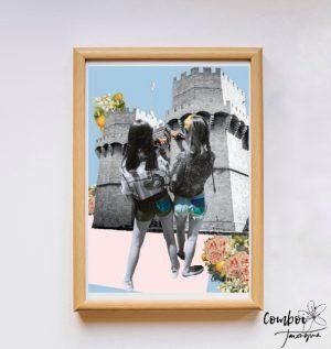 Collage A la porta de Serrans