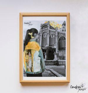 Làmina Klimt al Mercat Central