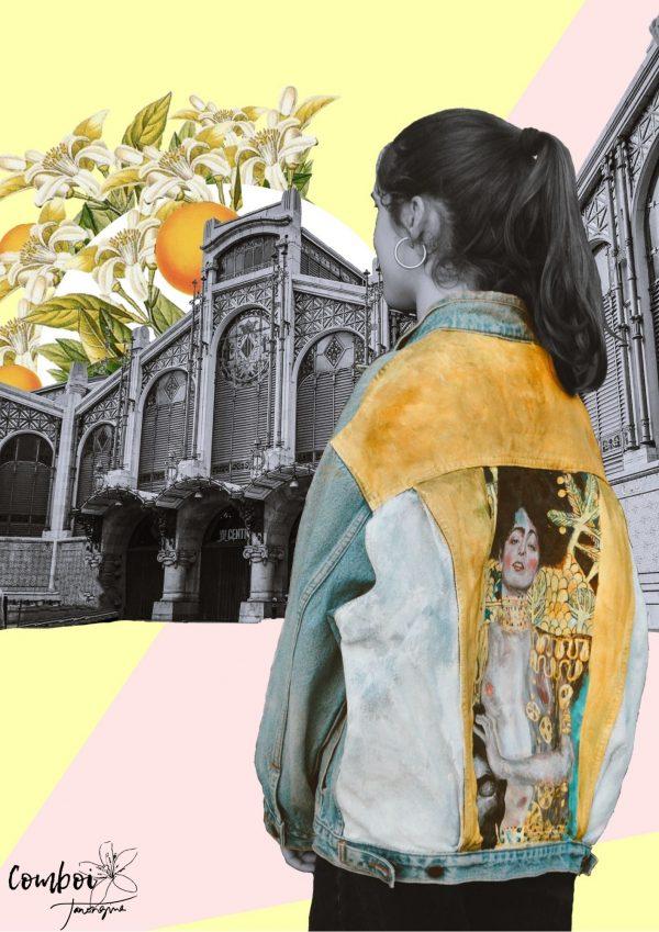 Collage Klimt al Mercat Central